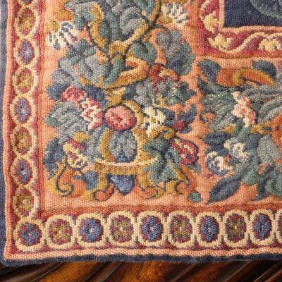 Lot 20 Lrg. Vintage Tapestry & Hanger