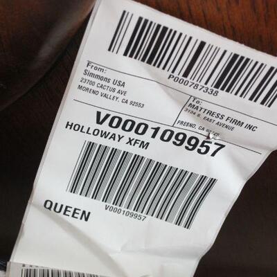Lot 21 Fairmont Designs Queen Bed w/ Beautyrest Mattress