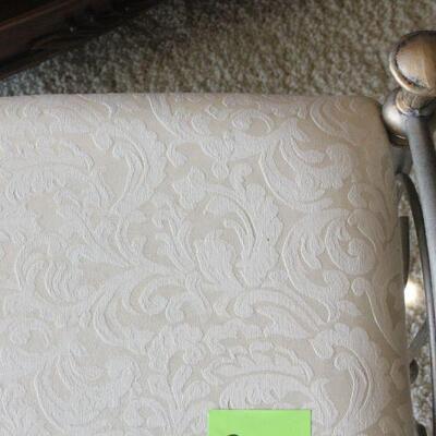 Lot 22 Iron Scroll Decorative Bench