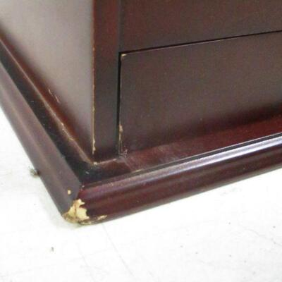 Lot 4 - Desk Filing Box With Drawer