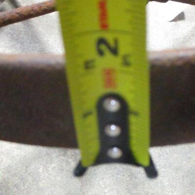 Lot 5 - Vintage Wheel Barrow Steel Wheel