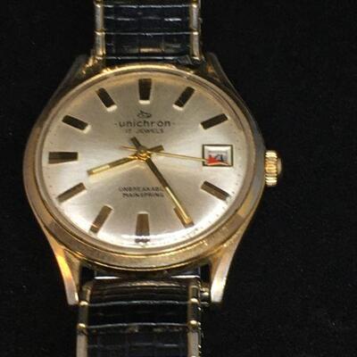 Unichron Wrist Watch