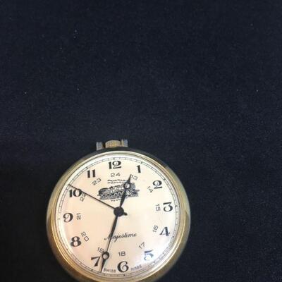 Majestime Train Pocket Watch