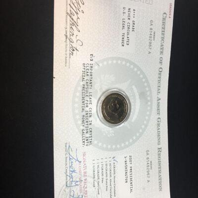 2017 George Washington Dollar Coin