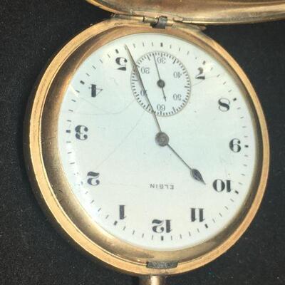 Elgin Pocket Watch with Pocket Knife