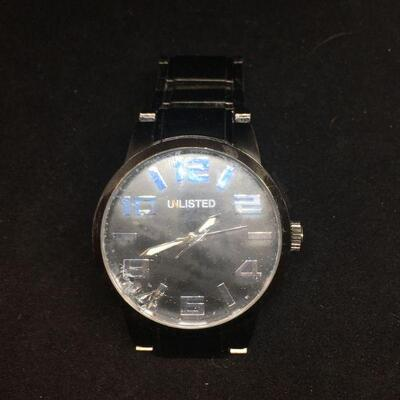 Unlisted Black Watch