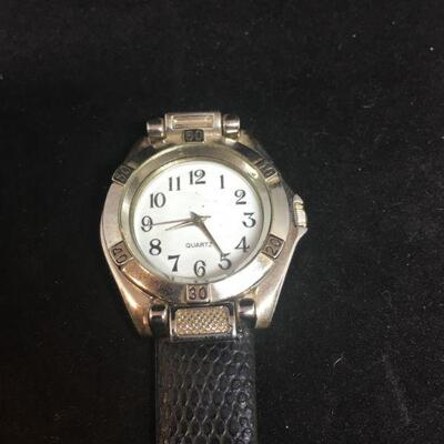 Wrist Watch with Window Cover