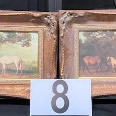 LOT#8: Pair of H. Hal - Kramer of Chicago