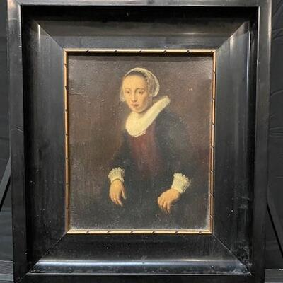 LOT#11: Believed to be 18th Century Dutch School Portrait