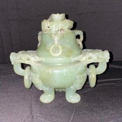 LOT#14: Chinese Jade Censor #1