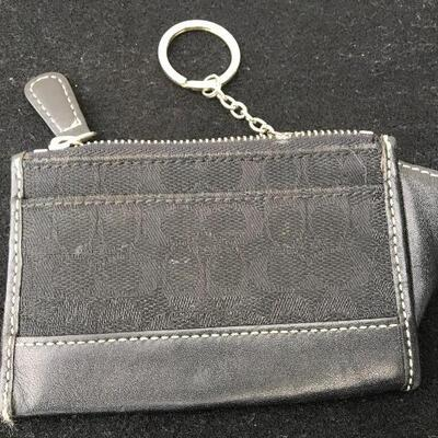 COACH Black Two Piece Purse Set