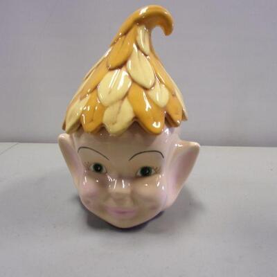 Lot 5 - Fairy Cookie Jar