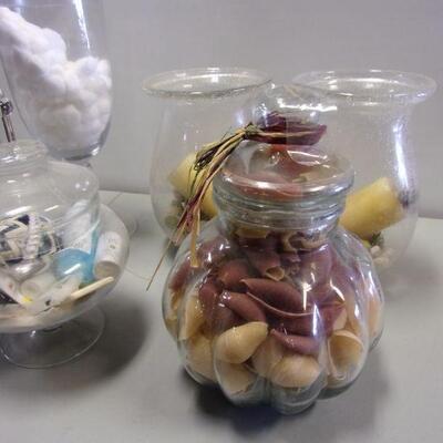 Lot 14 - Display Glass Jars