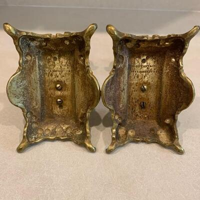 Vintage Tiffany and Co sterling silver matching fireplace decor