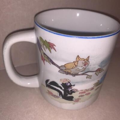 Vintage Disney Bambi coffee cup