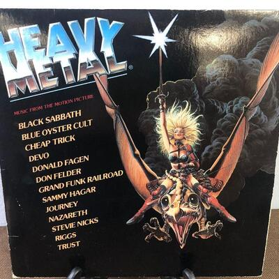 Heavy Metal Music from the Motion Picture DP9000-4