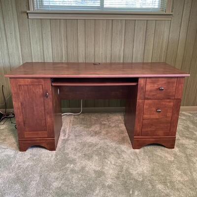 Dawson 2 Drawer Classic Desk