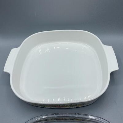 Corning Ware Spice of Life casserole role A-10-B with lid