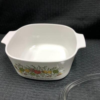 Corning Ware Spice of Life Casserole with Lid  A-3-B
