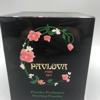 Vintage Pavlova Paris 1922 Dusting Powder 6oz Boxed Unused YD#011-1120-00045