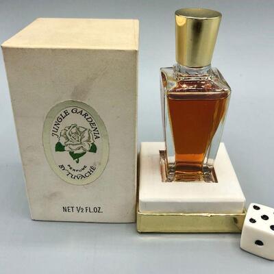 Vintage Jungle Gardenia by Tuvache Boxed 1/2oz Bottle