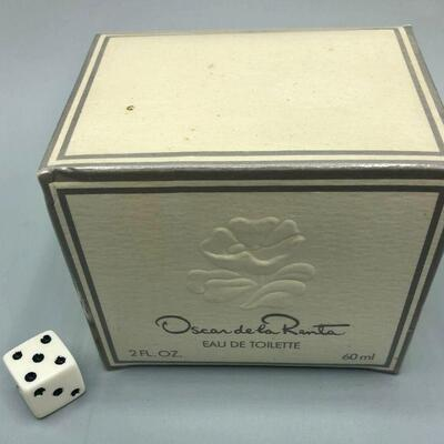 Vintage Oscar De La Renta Eau De Toilette 2 oz UNOPENED Sealed Box