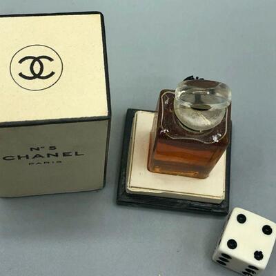 Vintage Chanel No. 5 Miniature Bottle Full
