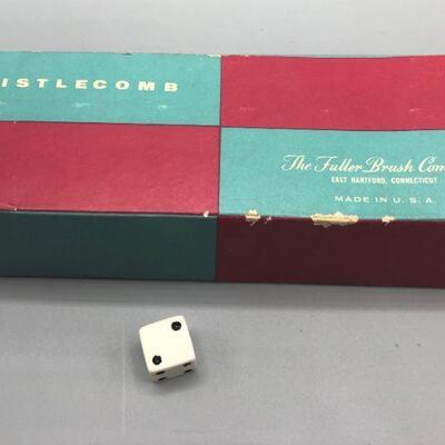 Vintage Fuller Brush Co Bristlecomb Original Box