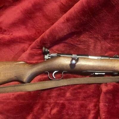 Springfield model 84-c bolt action 22lr good condition