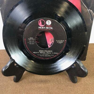 #2 Heavy Metal E-47175 45 rpm Single