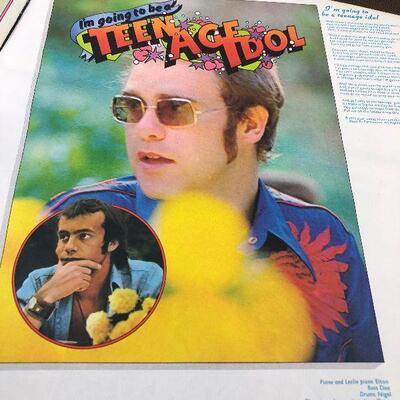 #3 Don't Shot Me I Only the Piano Player by Elton John MCA-2100