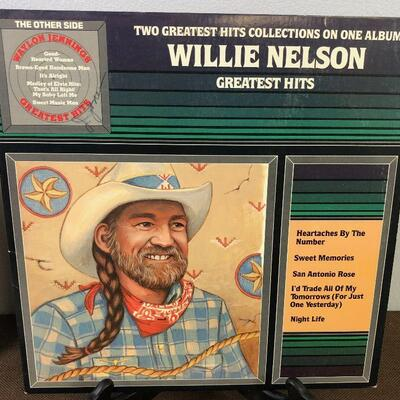 #4 Two Greatest Hits Collections Willie Nelson and Waylon Jennings DTL10675