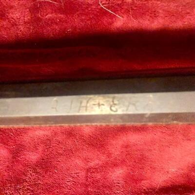 Beautiful unmarked Kentucky long rifle