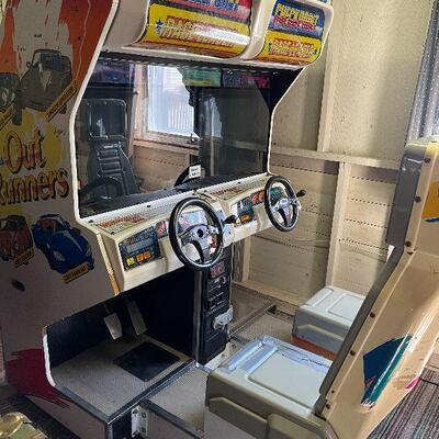 L131: SEGA Outrunners Arcade Machine