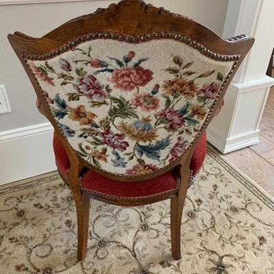 Oh What a Nice Chair with a 2nd identical 1 on this Auction