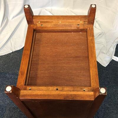 Solid Wood Side Table LOCAL PICKUP ONLY