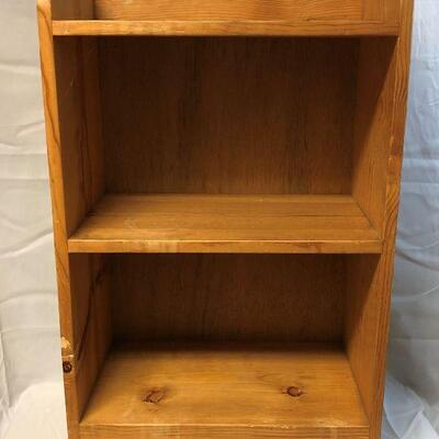 Small Solid Wood Book Shelf LOCAL PICKUP ONLY
