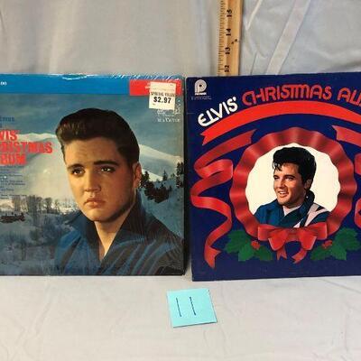 Two Elvis Presley Christmas Albums