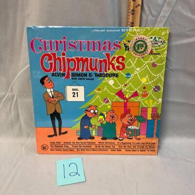 Christmas Chipmunks LP
