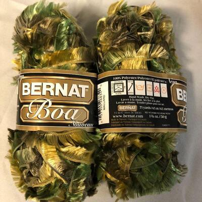 Bernat Boa and Bernat Boa Furs Yarn