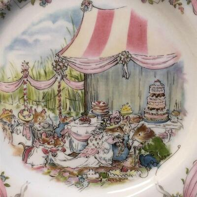 1987 Royal Doulton Brambly Hedge The Wedding Plate
