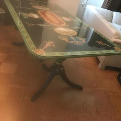 Dining Table Hand Painted72