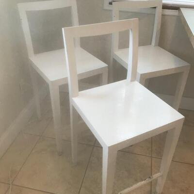Counter-height barstools $135/3