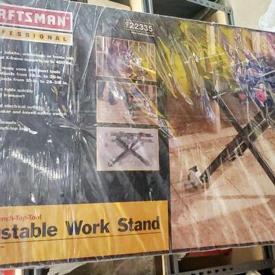 CRAFTSMAN PROFESSIONAL ADJUSTABLE WORK STAND *NEW*