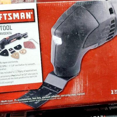 CRAFTSMAN ELECTRIC MJLTI-TOOL *NEW*