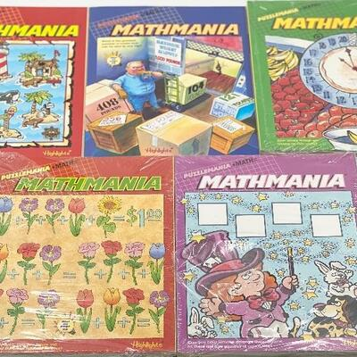 HIGHLIGHTS MATHMANIA 8 MAGAZINES