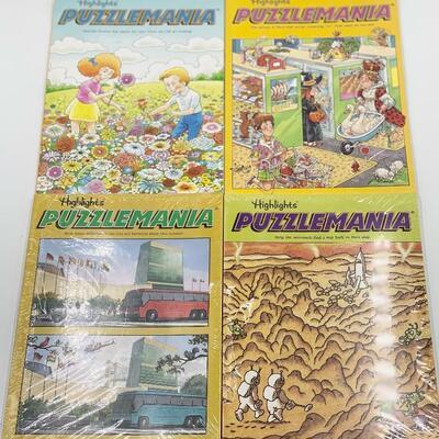 HIGHLIGHTS PUZZLEMANIA 6 MAGAZINES