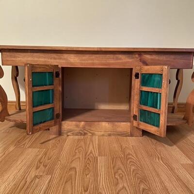 Custom Solid Wood Coffee Table