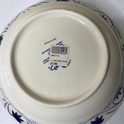 4pc Fruit Medley Bowl / Oval Platter