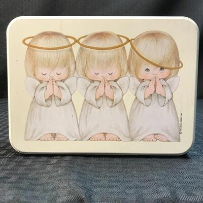 Hallmark Praying Angels Tin